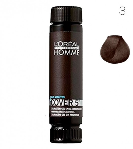 Loreal Homme Cover 5, 3 dunkelbraun