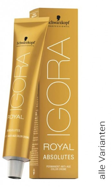 IGORA Royal Absolutes (alle Varianten), 60 ml