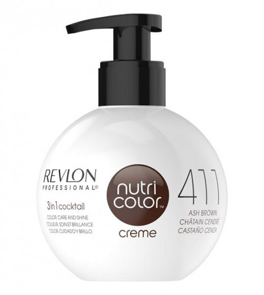 Revlon Nutri Color Creme Kastanie (411), 250 ml