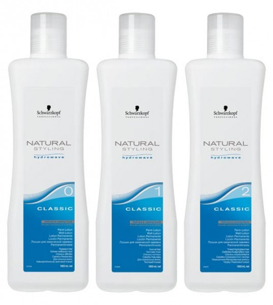 Schwarzkopf Natural Styling Hydrowave Classic Lotion, 1000 ml