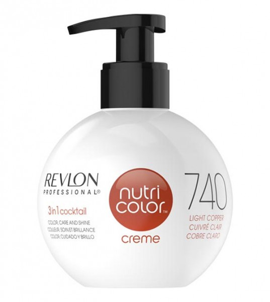 Revlon Nutri Color Creme Kupfer (740), 250 ml