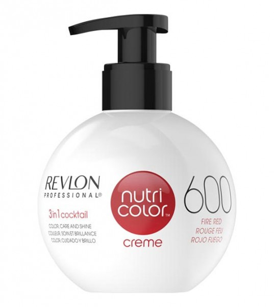 Revlon Nutri Color Creme Feuerrot (600), 250 ml