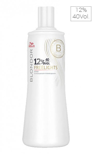 Wella Blondor Freelights Oxidant 12%, 1000 ml