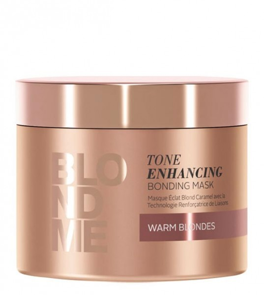 BlondMe Tone Enhancing Bonding Mask Warm Blondes, 200 ml